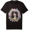 Givenchy Pin-Up Print Cotton T-Shirt