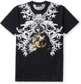 Givenchy Oversized Bone-Print Cotton-Jersey T-Shirt