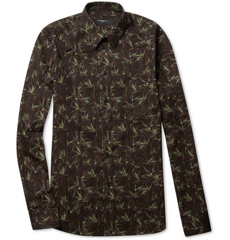 Givenchy Printed Slim-Fit Cotton Shirt