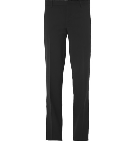 Givenchy Straight-Leg Wool Suit Trousers