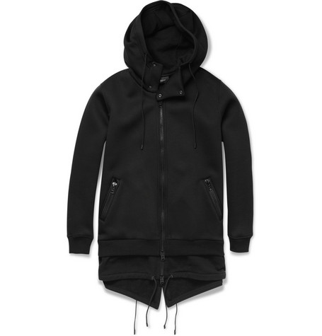 Givenchy Double-Layered Hooded Coat