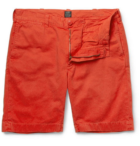 J.Crew Stanton Cotton-Twill Shorts