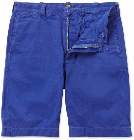 J.Crew Stanton Slim-Fit Cotton-Twill Shorts