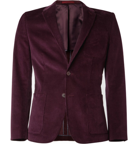PS by Paul Smith Slim-Fit Corduroy Blazer
