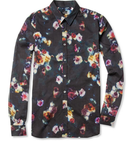 PS by Paul Smith Printed Cotton Shirt