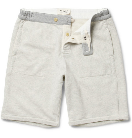 YMC Loopback Cotton-Jersey Sweat Shorts