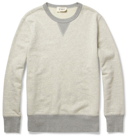 YMC Loopback Cotton-Jersey Sweatshirt