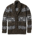 Dolce & Gabbana - Chunky-Knit Oversized Wool-Blend Cardigan