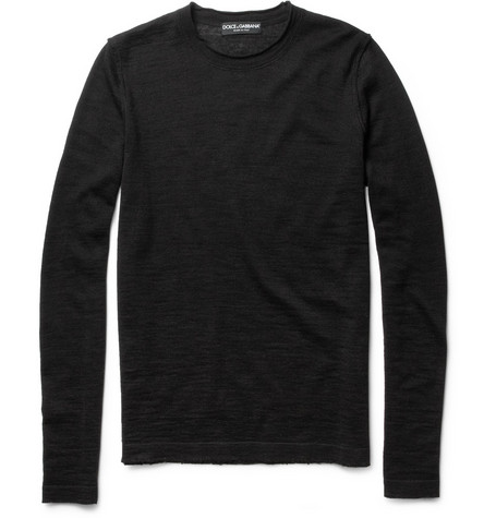 Dolce & Gabbana Lightweight Crew Neck Sweater