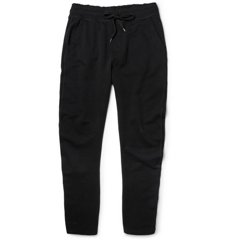 Dolce & Gabbana Gym Line Tapered Cotton-Jersey Sweatpants