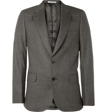 Paul Smith Slim-Fit Pindot Wool-Blend Blazer