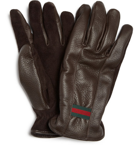 Gucci Cashmere-Lined Gloves