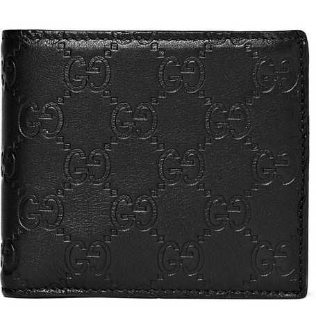 Gucci Leather Wallet with Coin Case