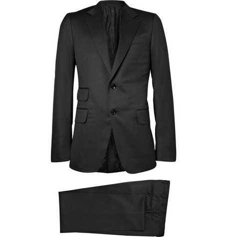 Gucci Heritage Two Button Lightweight Wool Suit