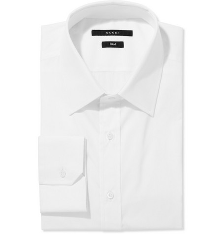 Gucci Slim Fit Cotton Shirt