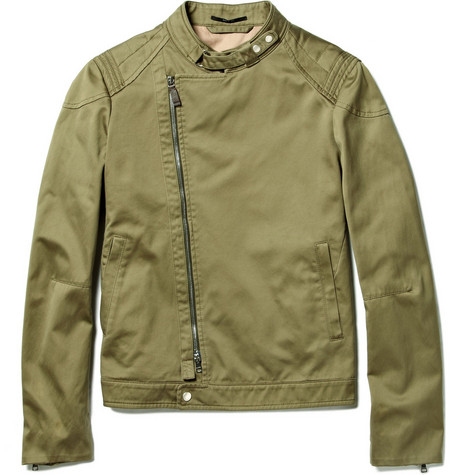 Gucci Cotton Biker Jacket