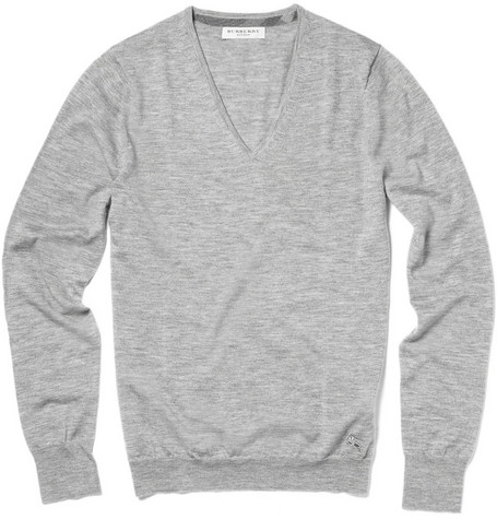 Burberry London Cashmere V-Neck Sweater