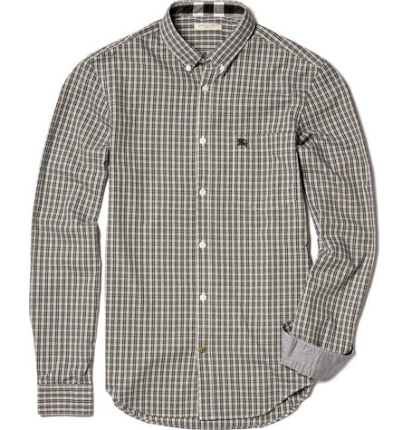 Burberry Brit Button Down Check Shirt
