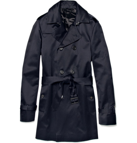 Burberry Prorsum Short Trench Coat