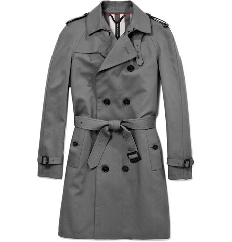 Burberry Prorsum Double-Breasted Trench Coat