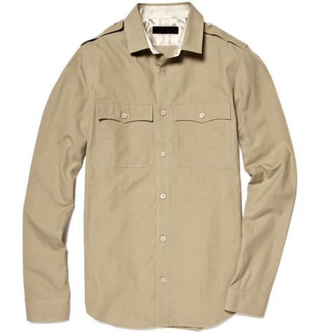Burberry Prorsum Slim Military Shirt