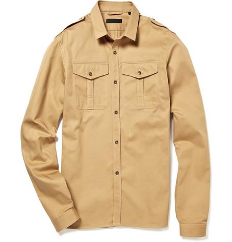Burberry Prorsum Slim Military Shirt