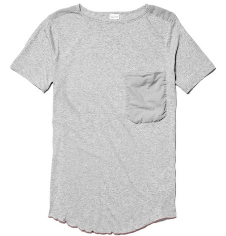 Paul Smith Loose Collar Cotton T-shirt