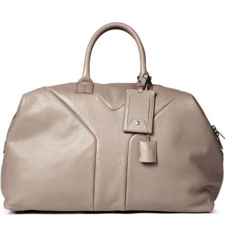 Yves Saint Laurent Leather Weekend Bag