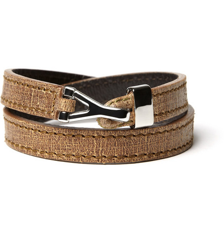 Yves Saint Laurent Double Wrap Bracelet
