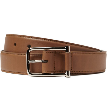Yves Saint Laurent Leather Belt