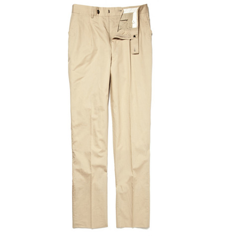 Yves Saint Laurent Pleated Front Trousers