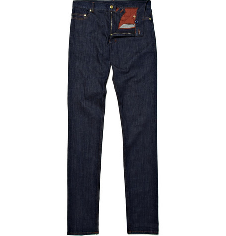 Yves Saint Laurent Skinny Fit Denim Jeans