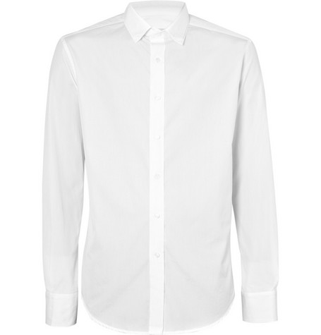Yves Saint Laurent Double Collar Cotton Shirt
