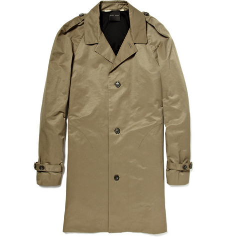MR. by Roland Mouret Cotton-Blend Trench Coat