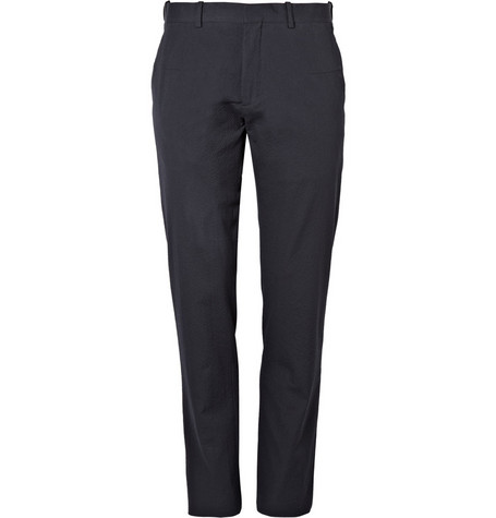 MR. by Roland Mouret Seersucker Suit Trousers