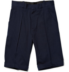 MR. by Roland Mouret Cotton Blend Tailored Shorts