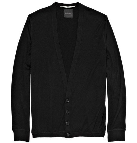 MR. by Roland Mouret Cashmere Low-Button Cardigan