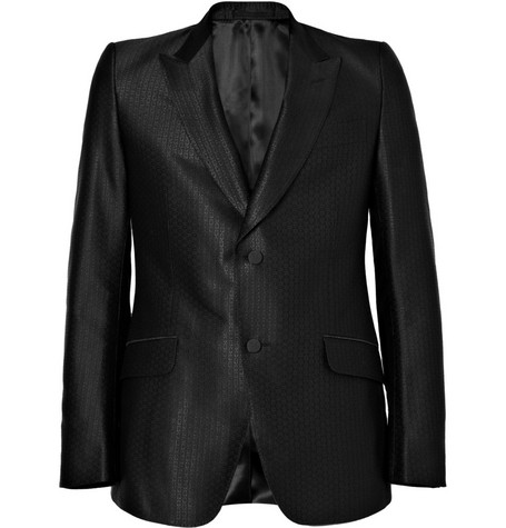 Gucci Single-Breasted Notch Lapel Dinner Jacket