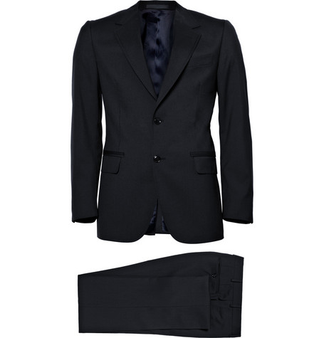 Lanvin Slim Fit Two Button Suit