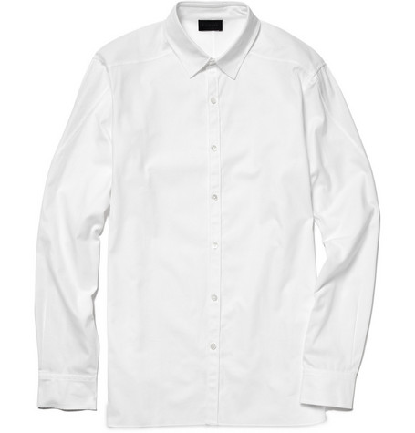 Lanvin Unfinished-Hem Shirt