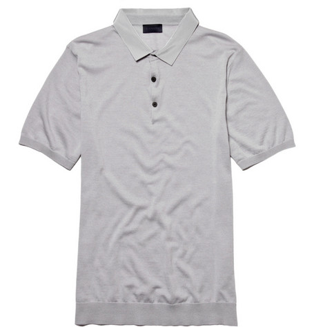 Lanvin Merino Wool Polo Shirt