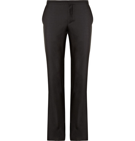 Lanvin Tailored Wool Trousers