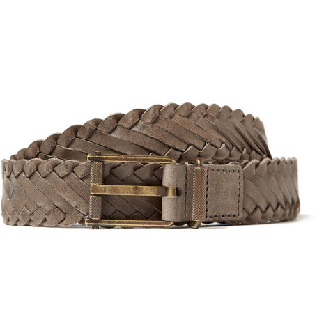 Lanvin Woven Leather Belt