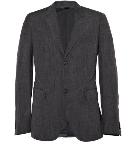 Margaret Howell Wool Blend Suit Jacket