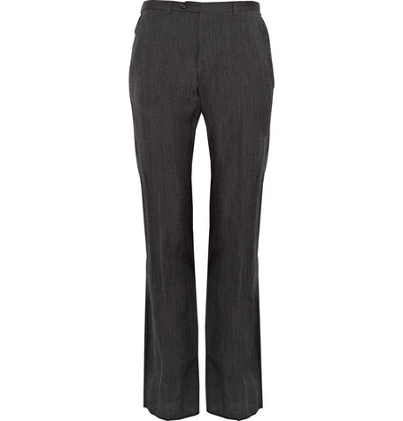 Margaret Howell Wool-Blend Suit Trousers