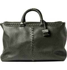 Bottega Veneta Leather Weekend Bag