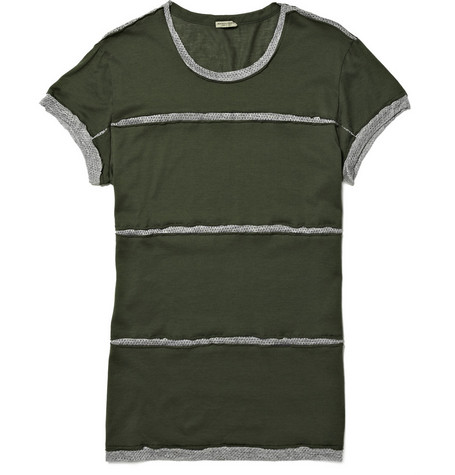 Bottega Veneta Panelled T-shirt