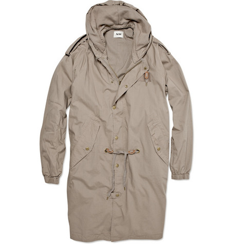 Acne Studios Trophy Cotton Parka