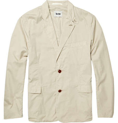 Acne Studios Unstructured Cotton Blazer