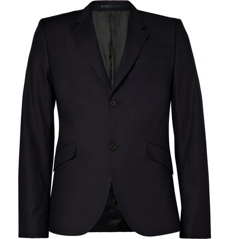 Acne Single-Breasted Notch Lapel Blazer